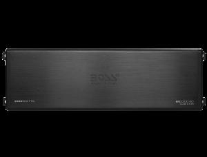 BOSS ELITE 2200 Watts, MINI Class D 5 Ch Amplifier, LED End Panels, Remote Sub Level Control
