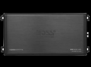 BOSS ELITE 900 Watts, MINI Class D 4 Ch Amplifier, LED End Panels, Remote Sub Level Control