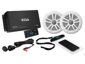 BOSS - Bluetooth Amplifier Speaker Package includes 1 pair of speakers (no receiver  required)
