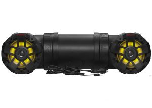 BOSS - Off Road/Marine Sound System w/Multicolor LED 6.5inch Marine Speakers, 1.5inch Tweet
