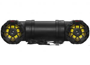 BOSS - Off Road/Marine Sound System w/Multicolor LED 8inch Marine Speakers, 1.5inch Tweet