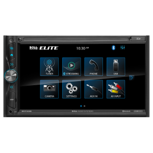 """BOSS - ELITE - Double Din Mechless BT w/ Android Mirroring 6.95"""" TFT Wireless Remote"""