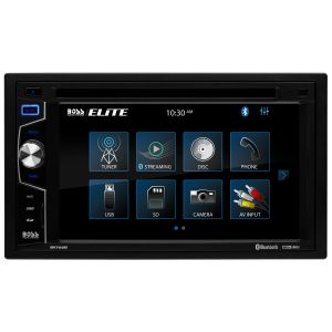 BOSS - ELITE - Double Din DVD BT w/ 6.2inch Touchscreen Monitor