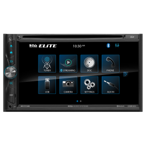 """BOSS - ELITE - Double Din DVD BT w/ Android Mirroring 6.95"""" TFT Wireless Remote"""