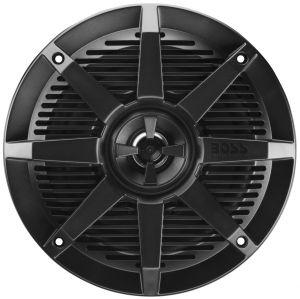 BOSS - 6.5inch 2-Way Coaxial Marine Speaker 200 Watts Black