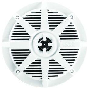 BOSS - 6.5inch 2-Way Coaxial Marine Speaker 200 Watts White