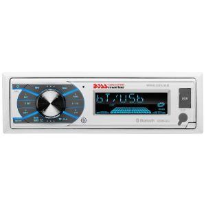 BOSS - Single Din CD Marine BLUETOOTH® In-Dash Single-Media Receiver