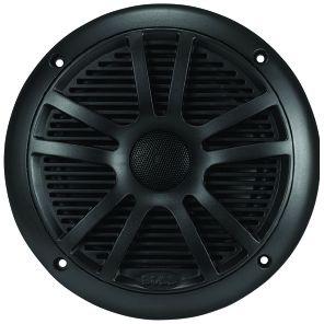 BOSS - 6.5inch Dual Cone Marine Speaker 180 Watts Black