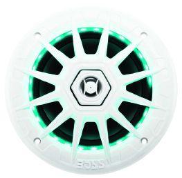 BOSS - 6.5inch 2-Way Marine Loudspeaker 350 Watts White