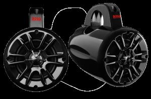 """BOSS - 4"""" 2 Way Marine Waketower Speaker Pair 400 Watts"""