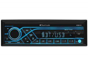 PLANET - Single-DIN, MECH-LESS Multimedia Player (no CD/DVD) Bluetooth