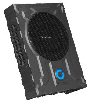 PLANET -8inch Low Profile Amplified Subwoofer w/Remote